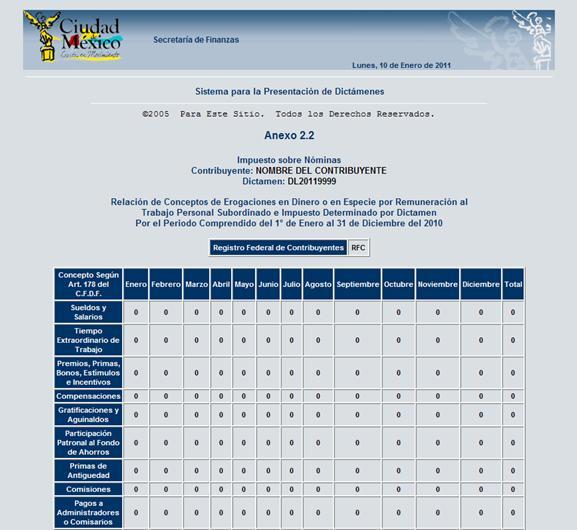 Tablas de impuesto sobre nomina en la ciudad de mexico for Tabla de nomina